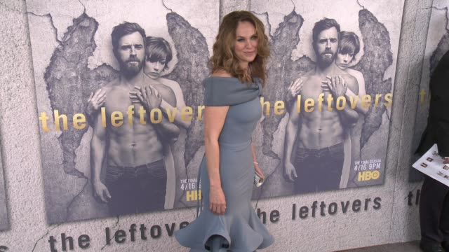 Amy Brenneman at the Premiere Of HBO's 'The Leftovers' Season 3 at Avalon Hollywood on April 04 2017 in Los Angeles California