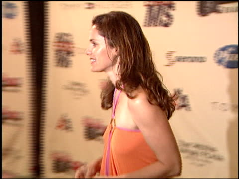 vídeos y material grabado en eventos de stock de amy brenneman at the race to erase at the century plaza hotel in century city, california on may 14, 2004. - race to erase ms