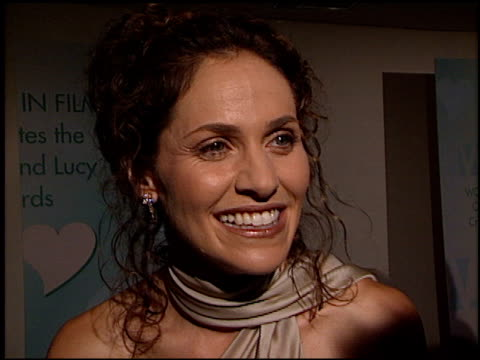 Amy Brenneman at the Women in Film Awards at the Century Plaza Hotel in Century City California on September 20 2002