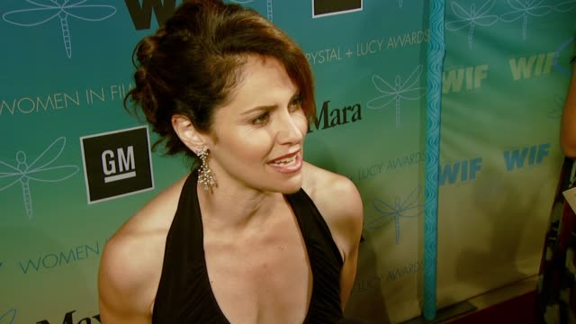 Amy Brenneman at the Women In Film Presents the 2007 Crystal Lucy Awards at the Beverly Hilton in Beverly Hills California on June 14 2007