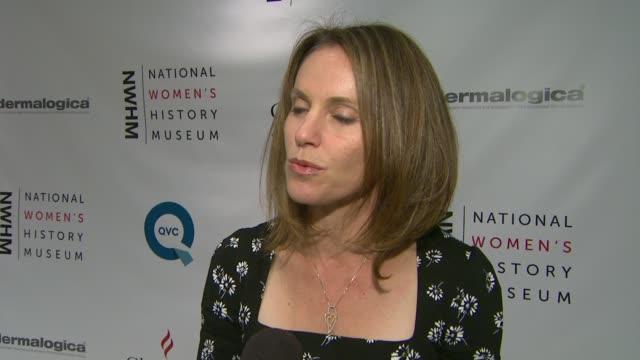 Amy Brenneman on binders full of women at NWHM Hollywood Stars Celebrate Jennifer Newsom Dolores Huerta on 10/26/12 in Los Angeles CA
