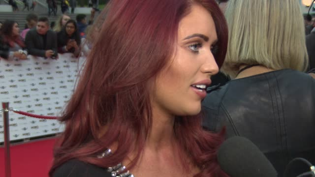 amy childs on her car accident, her love of driving, her music taste being excited about the awards and her future projects at mobo awards 2014 at... - wembley arena stock videos & royalty-free footage