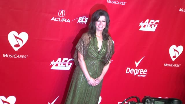 Amy Grant at 2014 MusiCares Person of The Year Honoring Carole King at Los Angeles Convention Center on in Los Angeles California