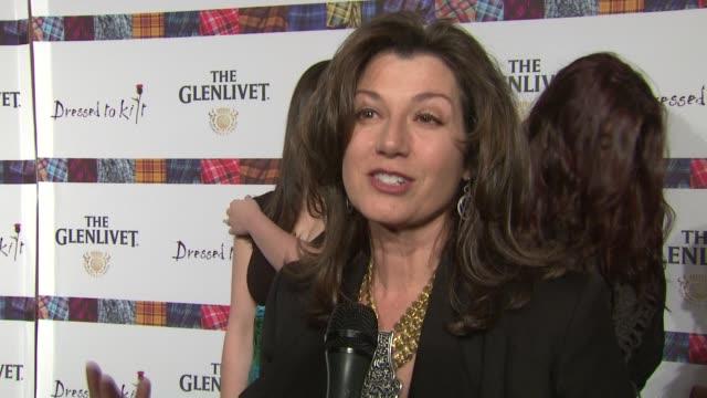 Amy Grant talks about the meaning of her Scottish name and what her husband thinks of it says she plans to sing in Glasgow talks about walking the...