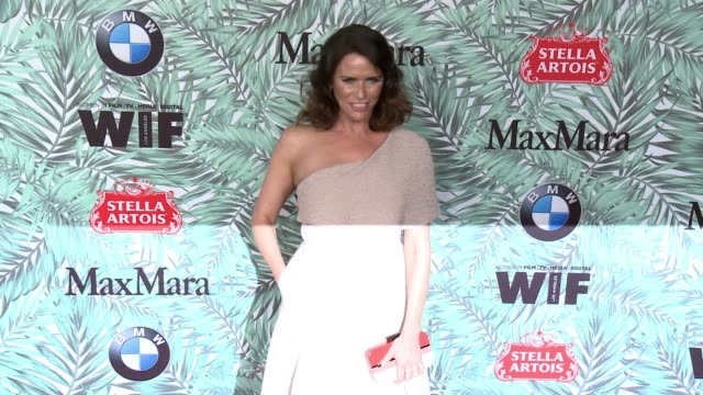 amy landecker at 10th annual women in film pre-oscar cocktail party presented by max mara and bmw at nightingale plaza on february 24, 2017 in los... - nightingale stock videos & royalty-free footage