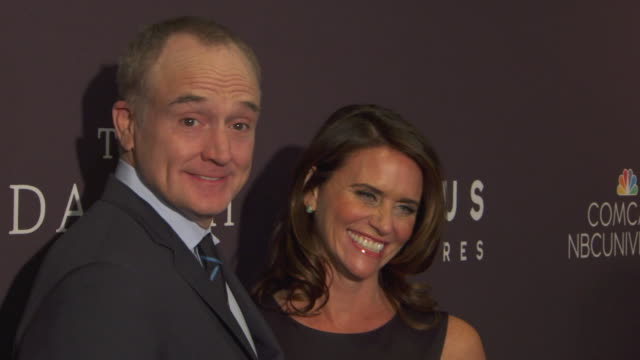 """amy landecker talks about what happened at white house """"champions of change"""" event today, on how ground-breaking it was at lgbt artists / """"champions... - ブラッドリー ウィトフォード点の映像素材/bロール"""