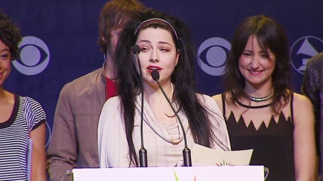 Amy Lee of Evanescence at the 2006 Grammy Awards Nominations Announcement at Music Box @ the Fonda in Hollywood California on December 7 2006