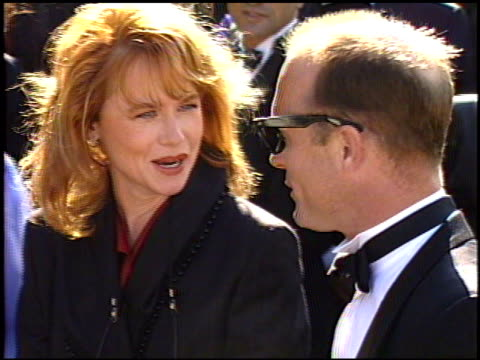 amy madigan at the 1989 emmy awards outside at the pasadena civic auditorium in pasadena california on september 17 1989 - amy madigan stock videos & royalty-free footage