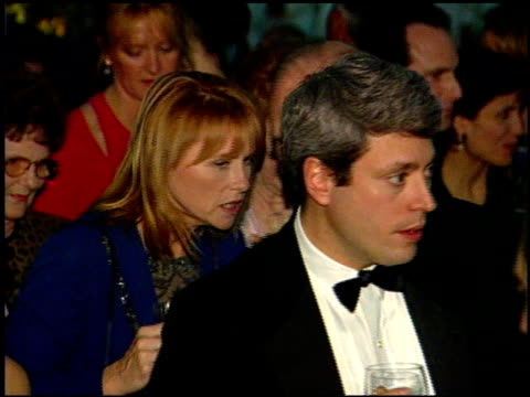 amy madigan at the 1999 academy awards governor's ball at the shrine auditorium in los angeles california on march 21 1999 - amy madigan stock videos & royalty-free footage