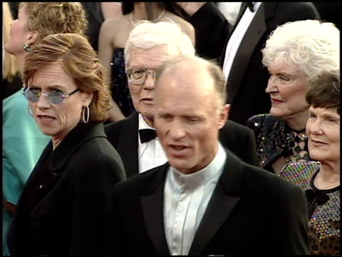 amy madigan at the 2001 academy awards at the shrine auditorium in los angeles california on march 25 2001 - amy madigan stock videos & royalty-free footage