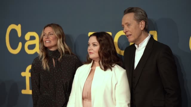 SLOMO Amy Naulokas Melissa McCarthy Richard E Grant at 'Can You Ever Forgive Me' UK Premiere 62nd BFI London Film Festival on October 18 2018 in...