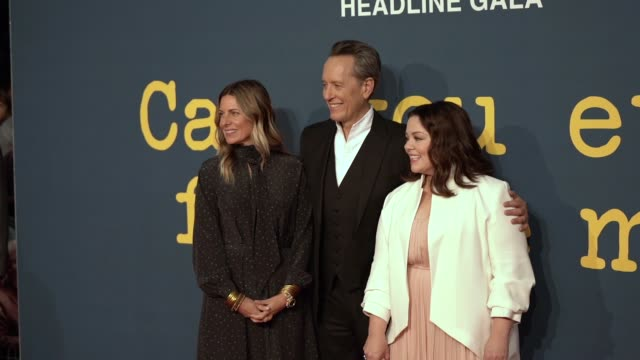 SLOMO Amy Naulokas Richard E Grant Melissa McCarthy at 'Can You Ever Forgive Me' UK Premiere 62nd BFI London Film Festival on October 18 2018 in...