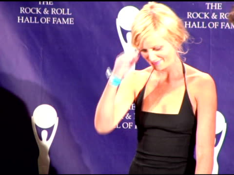 amy poehler and seth meyers at the rock and roll hall of fame 2007 induction ceremony at the waldorf astoria hotel in new york new york on march 13... - seth meyers stock videos and b-roll footage