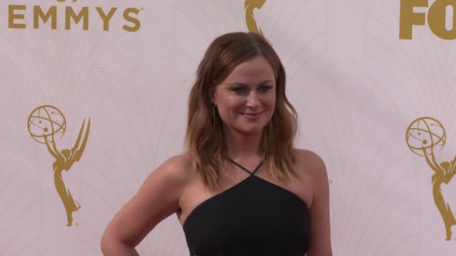 amy poehler at the 67th annual primetime emmy awards at microsoft theater on september 20 2015 in los angeles california - emmy awards stock videos and b-roll footage