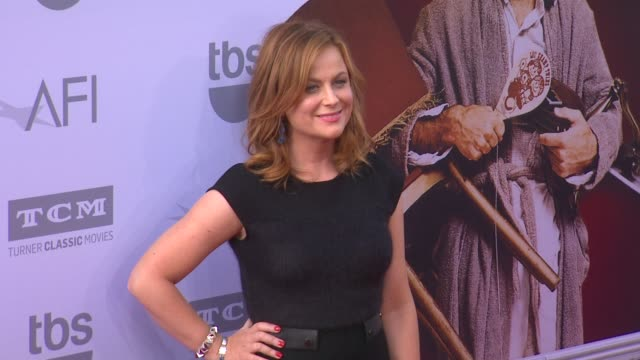 vídeos de stock, filmes e b-roll de amy poehler at the american film institute's 43rd life achievement award gala tribute to steve martin at dolby theatre on june 04 2015 in hollywood... - american film institute
