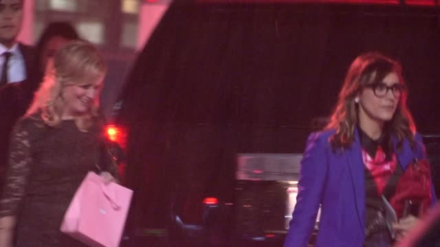 Amy Poehler Rashida Jones depart The Trevor Project's 2012 'Trevor Live' in Hollywood 12/02/12