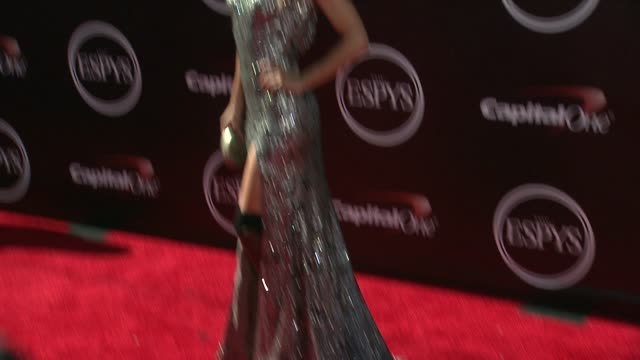 amy purdy at the 2014 espy awards in los angeles ca - espy awards stock videos & royalty-free footage