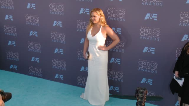 Amy Schumer at 21st Annual Critics' Choice Awards in Los Angeles CA