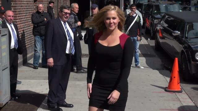 Amy Schumer at the 'Late Show with David Letterman' studio Amy Schumer at the 'Late Show with David Letterman on May 13 2013 in New York New York