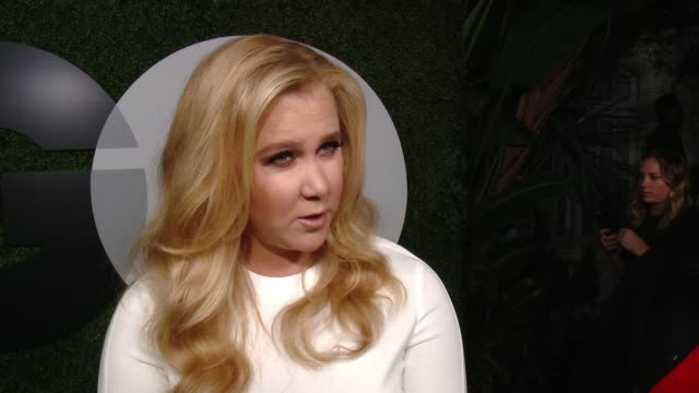 INTERVIEW Amy Schumer on what it means to be featured in the GQ Men of the Year issue what makes a gentleman and why she's not slowing down for the...