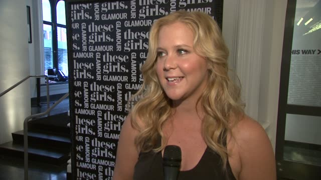 INTERVIEW Amy Schumer talks about opening up to a crowd of strangers Glamour being good to her and how comedy is changing the world at Glamour...