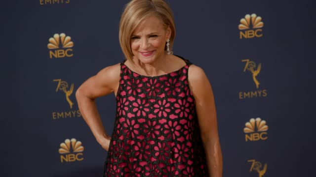 vídeos de stock, filmes e b-roll de amy sedaris at the 70th emmy awards arrivals at microsoft theater on september 17 2018 in los angeles california - 70th annual primetime emmy awards