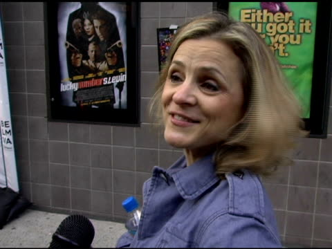 Amy Sedaris talks about her role in the movie 'Full Grown Men' and her thoughts about the Tribeca Film Festival at the 2006 Tribeca Film Festival...
