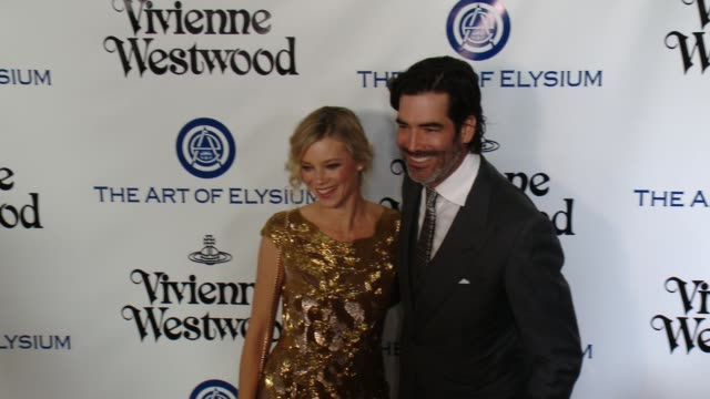 amy smart and carter oosterhouse at the the art of elysium's ninth annual heaven gala at 3labs on january 9 2016 in culver city california - amy carter stock videos & royalty-free footage