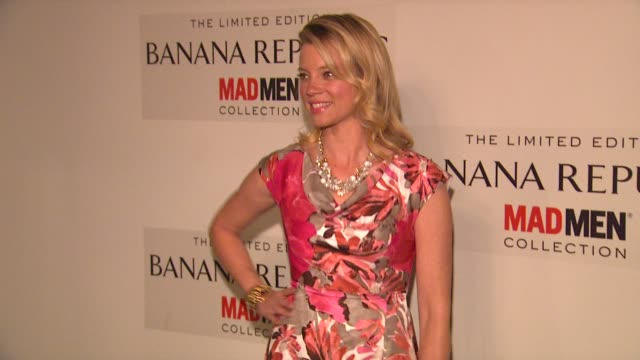 Amy Smart at Spring Banana Republic Mad Men Collection Launch on 2/29/12 in Los Angeles CA