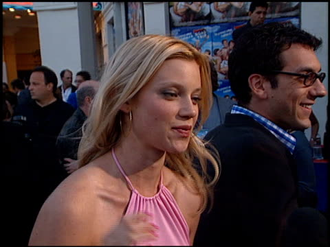 Amy Smart at the 'Road Trip' Premiere at the Mann Village Theatre in Westwood California on May 11 2000
