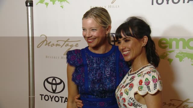 vidéos et rushes de amy smart, constance zimmer at the 28th annual environmental media awards in los angeles, ca 5/22/18 - environmental media awards