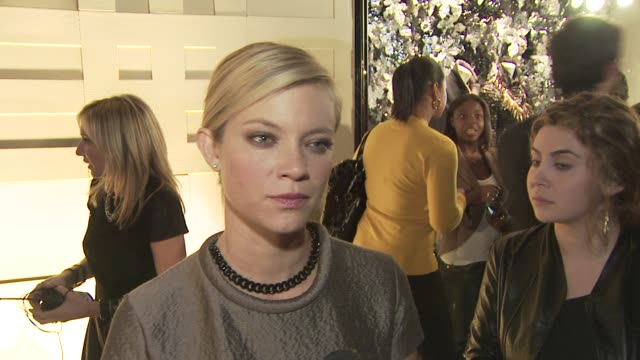 Amy Smart on attending tonight's event on the appeal of Burberry on if she likes the new direction Burberry is headed in and on her favorite Burberry...