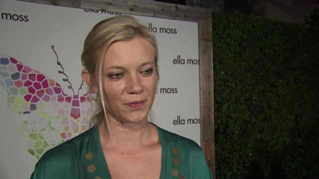 Amy Smart on who she's wearing and why she selected the piece what she loves about Ella Moss how she's beating the heat this summer how she's been...