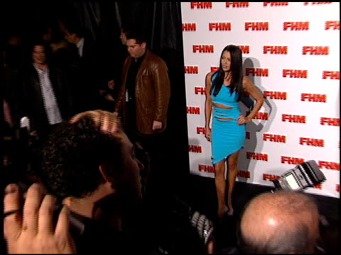 Amy Weber at the FHM Magazine 100 Sexiest Women at La Boheme in West Hollywood California on May 17 2001