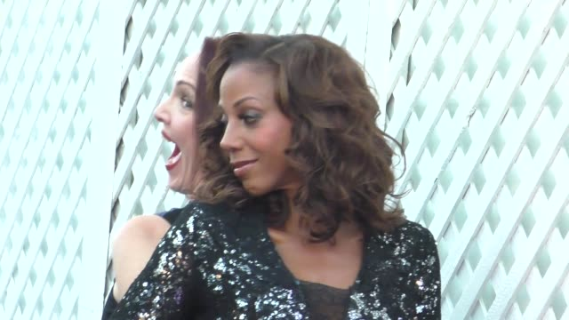 amy yasbeck holly robinsonpeete at the designcare gala at the lot studios on august 08 2015 in los angeles california - amy yasbeck stock videos & royalty-free footage