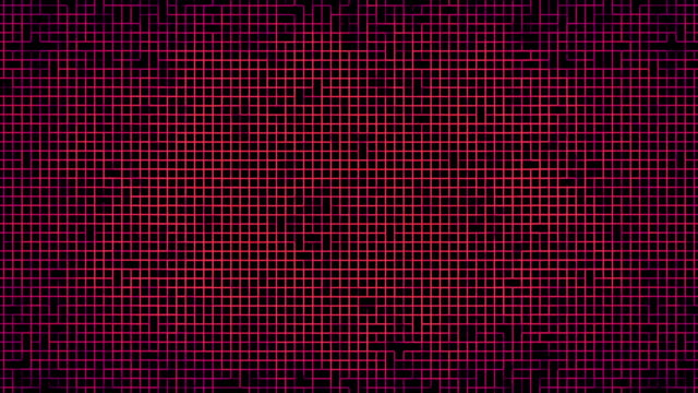 an abstract complex grid formation (loop). - imperfection stock videos & royalty-free footage
