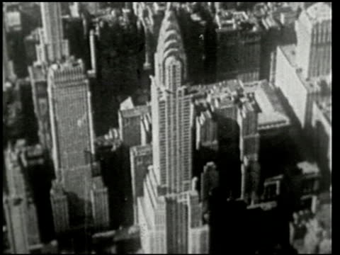 stockvideo's en b-roll-footage met an aerial trip over new york - 7 of 8 - prelinger archief