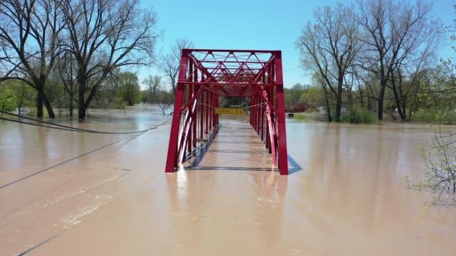 MI: Two Dams Burst Flooding Town Of Midland, Michigan