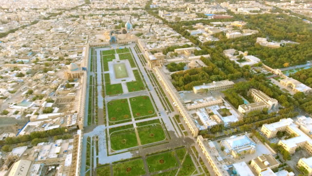 An aerial view of Naghsh-e Jahan Squart of Esfahan, Iran.