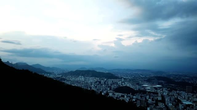 An aerial view of Rio's famous Maracanã stadium Rio de Janeiro Brazil