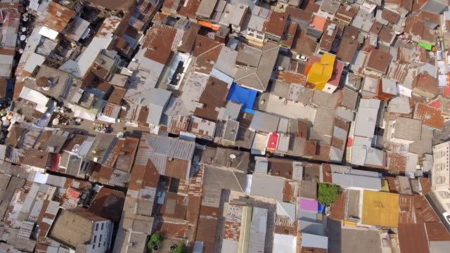 stockvideo's en b-roll-footage met an aerial view of the northern city of rasht, iran - david ewing