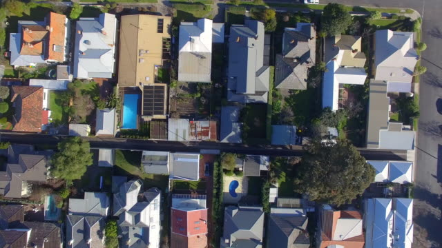 an aerial view of the wealthy coastal suburb of williamstown melbourne. - david ewing stock videos & royalty-free footage