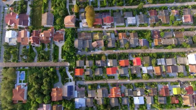 vídeos de stock, filmes e b-roll de an aerial view of the wealthy suburb of mazandaran, north iran. - david ewing