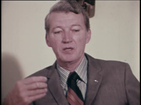 stockvideo's en b-roll-footage met an aerospace expert discusses how the space program evolved from the earlier icbm program. - raket wapen