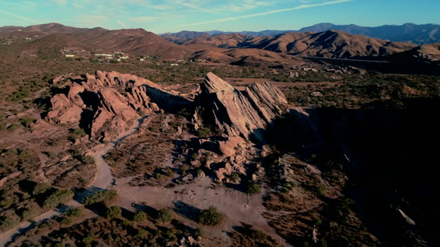 an after at the vasquez rocks - vasquez rocks stock videos and b-roll footage