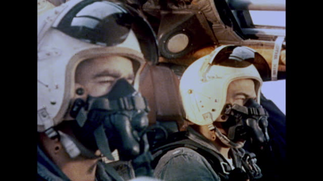 1964 an air force plane takes to the skies - fighter stock videos & royalty-free footage