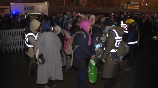 an all-woman international convoy which started its three-day journey in istanbul on tuesday to raise awareness of the suffering of women and young... - prisoner stock videos & royalty-free footage
