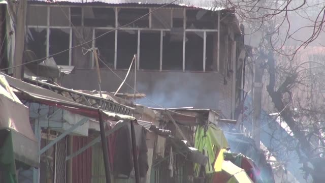 An ambulance packed with explosives has blown up in a crowded area of Kabul killing at least 40 people and wounding 140 others in an attack claimed...