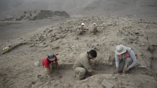 An ancient temple believed to be about 5000 years old has been discovered at the archaeological site of El Paraiso in Peru some 40 km northeast of...