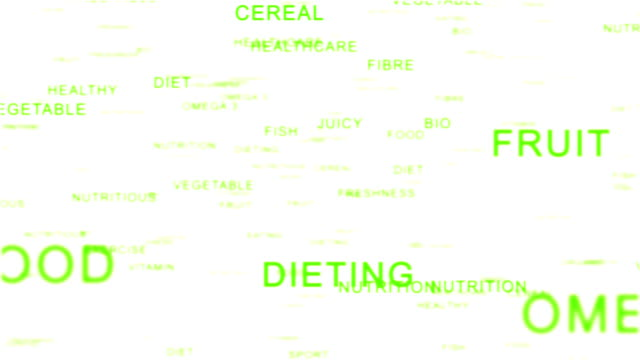 nutrition words videos and b roll footage getty images
